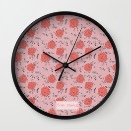 Tulipink Wall Clock
