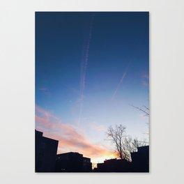 Sunset at Dusk Canvas Print