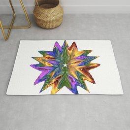 vectors colorful prismatic chromatic Rug
