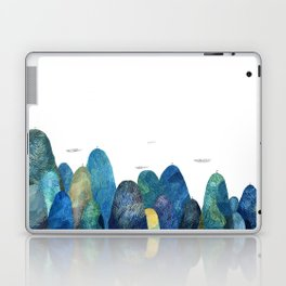 the moutains are comming Laptop & iPad Skin