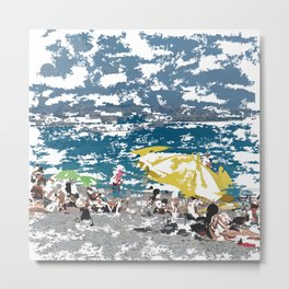 Beach III Metal Print