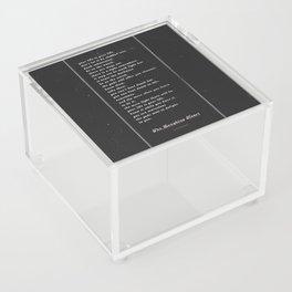 The Laughing Heart II Acrylic Box