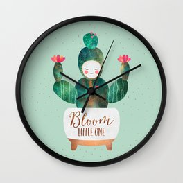 Bloom Little One Wall Clock