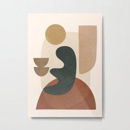 Abstract Minimal Art 28 Metal Print