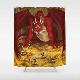 The Old One Shower Curtain