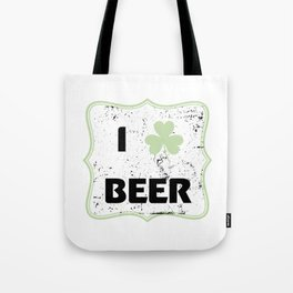 St Patty Irish Funny St Patrick's Day Beer Funny Tote Bag