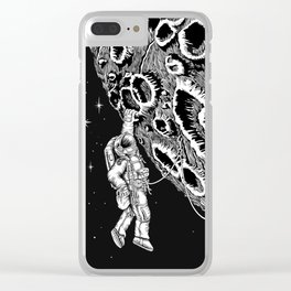 Armstrong 1969 Clear iPhone Case