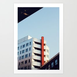Contrasted Art Print