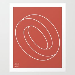 Schleife von Sucht Art Print