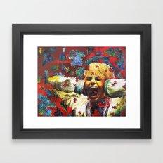 Can You Find... Framed Art Print