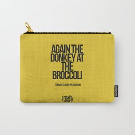 TORNA U CIUCCIO ARI VROCCOLI Carry-All Pouch