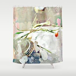 Bug Collection Shower Curtain