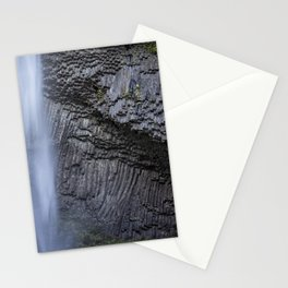 Water and Rock of Latourell Falls Stationery Cards