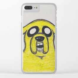 Jake the Dog Clear iPhone Case
