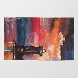 """Lighthouse Sunset""  Rug"