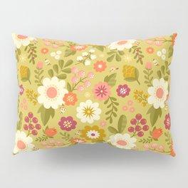 Magical Flower Garden Pillow Sham