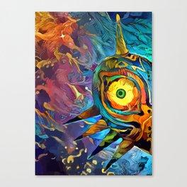 Colorful Majora´s Mask I Canvas Print
