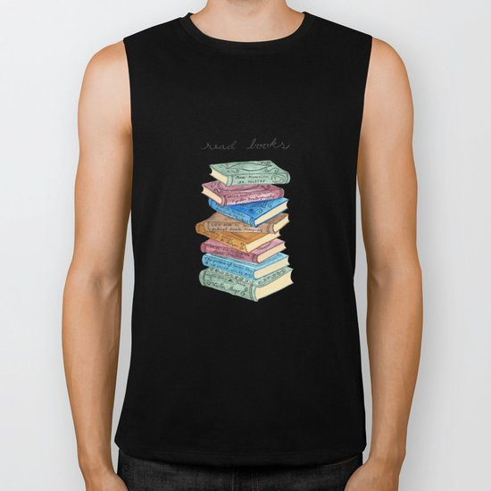 Love for reading Biker Tank