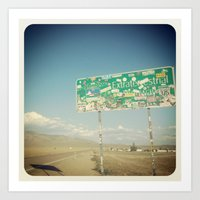 Paul's Highway Art Print