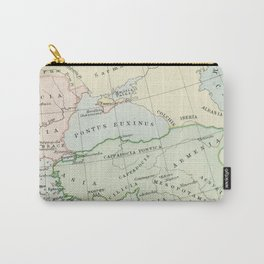Old Map of The Roman Empire Carry-All Pouch
