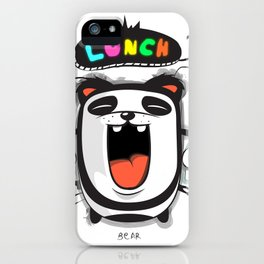 PANDA LUNCH TIME! iPhone Case