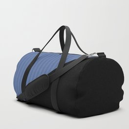 Black and blue Duffle Bag