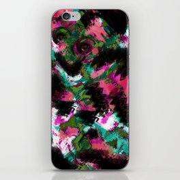 """Watercolor glamour "".  ""Watermelon  juice"" . iPhone Skin"