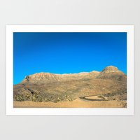 Arizona, árida y arenosa Art Print