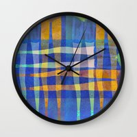 gradient Wall Clocks featuring gradient by Thedevilguru