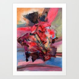 """""""Thought Form"""" Art Print"""
