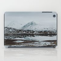 scotland iPad Cases featuring Glencoe, Scotland by Diana Eastman