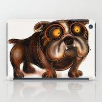 bulldog iPad Cases featuring Bulldog by Riccardo Pertici