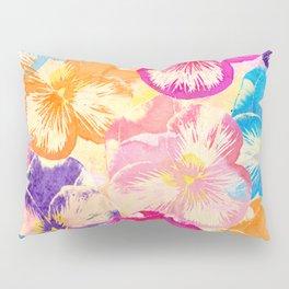 Pansies  Pillow Sham