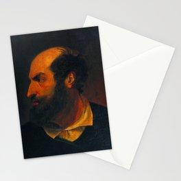 John Everett Millais - A Spanish Gentleman (after John Jackson's 'Shylock') Stationery Cards