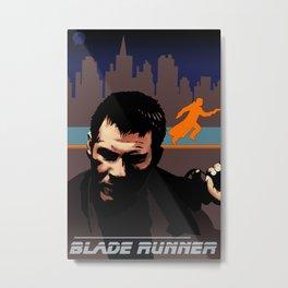 Blade Runner 30th Anniversary Commemorative Metal Print