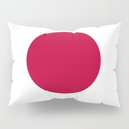 Classic Civil and state flag and ensign of Japan Pillow Sham