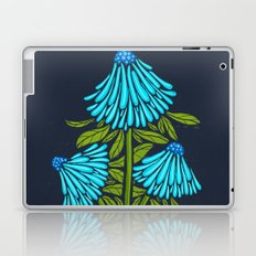 Blue Echinacea Laptop & iPad Skin