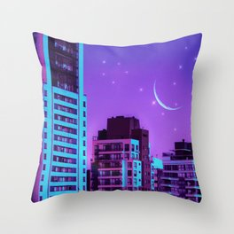 Pisces Constellation Throw Pillow