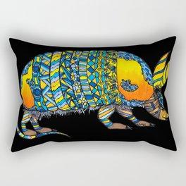 Alvaro the Armadillo Rectangular Pillow