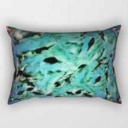 Smash smash turquoise Rectangular Pillow