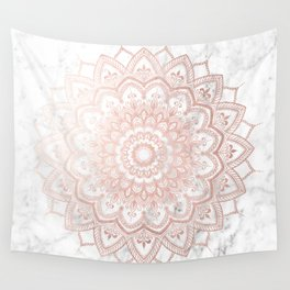 Pleasure Rose Gold Wall Tapestry