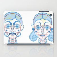 rare iPad Cases featuring A Rare Girl by Ukko