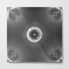 Quick Silver Metal Print