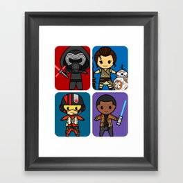 Force Awakens Framed Art Print