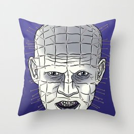 Head Of Pins Throw Pillow