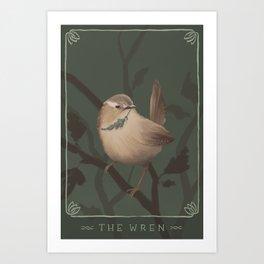 The Wren Art Print