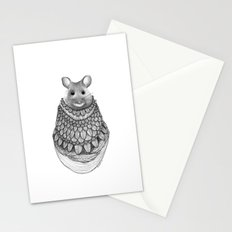 The Mouse- Feathered Stationery Cards