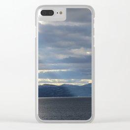 Lake Champlain Clear iPhone Case