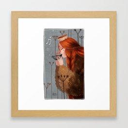 Late November II Framed Art Print