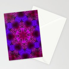 Abstract X Two Stationery Cards